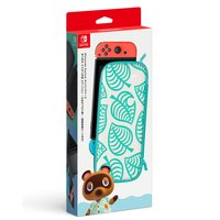 任天堂 Nintendo Switchキャリングケース あつまれ どうぶつの森エディション ~たぬきアロハ柄~(画面保護シート付き)ニンテンドー スイッチ 返品種別B
