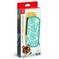 任天堂 Nintendo Switch Liteキャリングケース あつまれ どうぶつの森エディション ~たぬきアロハ柄~(画面保護シート付き) 返品種別B