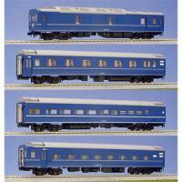 カトー (再生産)(HO) 3-510 24系25形寝台客車 4両基本セット 返品種別B
