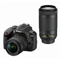 Joshin web - ニコン デジタル一眼レフカメラ「D3400」ダブルズームキット(ブラック) D3400WZBK 返品種別A|Yahoo!ショッピング
