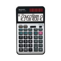 シャープ 卓上電卓 12桁(実務電卓) EL-N942X 返品種別A