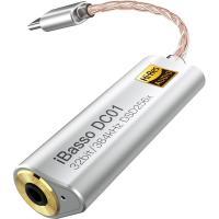 アイバッソ・オーディオ バランス DAC ケーブルアダプター(USB-C ⇒ 2.5mm 4極バランス出力端子搭載) iBasso DC01 返品種別A