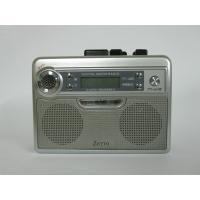 ラジカセなのに軽くてコンパクト手のひらサイズ。  お持ちのテープやAM/FMラジオ放送が楽しめます。...
