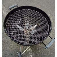 BBQ替え網セット 材質:スチール製  サイズ:Weberバーベキューグリル 57cm専用 直径54...