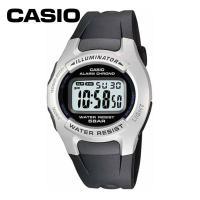 カシオのデジタル表示の腕時計です。 5気圧防水。 全面発光LEDライト付。 1/100秒ストップウオ...