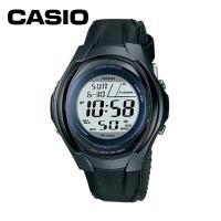 カシオのデジタル表示の腕時計です。 5気圧防水。 LEDライト(アンバー)付。 ストップウオッチ(1...