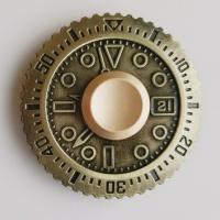 ハンドスピナー/フィジェットトイ/時計盤  おしゃれな時計盤のデザイン☆  ■実測回転時間:約1分3...