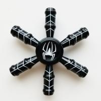 ハンドスピナー/フィジェットトイ/スパイダー   カラーはブラックとレッドの2色からお選びください。...