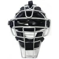 ベルガード 軟式野球 キャッチャーマスク 軟式用軽量マスク(アルミ合金フレーム) シルバー×黒(パッド) M150V-SVBK <2019>(受注生産品)