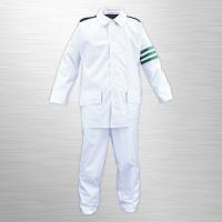 <商品説明> 交通指導員・警備員用の制服型レインウェア!! 用途によって使い分け可能な白/黒のリバー...