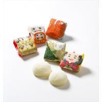 鶴、亀、鯛に七福神などなど。日本の「めでたい」が詰まったプレミアムパッケージきびだんご。年末年始、節...