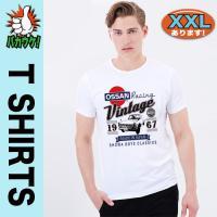おもしろTシャツ メンズ 日産  ニッサン パロディ オッサン レーシング ビンテージ 半袖 大きいサイズ 3L 4L XXXL Tシャツ