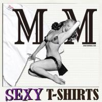 おもしろTシャツ メンズ 面白 パロディ エロ  デザイン MMヌード柄 マリリンモンローのデビュー...