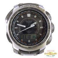 ★商品名 CASIO PROTRCK カシオ プロトレック 電波ソーラー腕時計 PRW-5100T ...