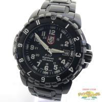 ★商品名 中古 LUMINOX ルミノックス ナイトホーク 6400-200 メンズ腕時計 ブラック...