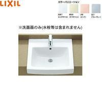 INAXはめ込み角形洗面器[オーバーカウンター式] L-2150 寸法:500x480mm 容量:7...