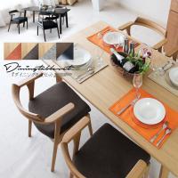 ■材質 ■テーブル:天板/ホワイトオークツキ板  ■椅子:フレーム/ホワイトオーク無垢  座面/ファ...