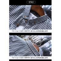 ボタンダウンシャツ メンズ 半袖 ギンガムチェック カジュアル スリム カジュアルシャツ 夏