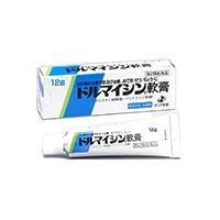 【送料無料】  ドルマイシン軟膏は、二種類の抗生物質を配合しているので、多くの菌に対して抗菌作用を示...