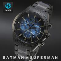 セイコーの人気ブランド「ワイアード」が話題の映画「スーパーマンvsバットマン ジャスティスの誕生」と...