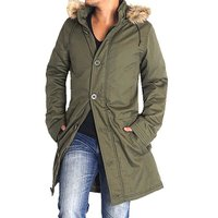 人気のモッズコート裏キルトで薄中綿入フード部分とファー部分脱着可能の3wayタイプのロングコート。 ...