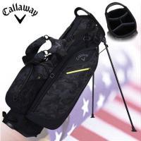 ダブルストラップスタンドバッグは軽量(約1.9kg)でコース間の持ち運びもラクラク。  ●フルレング...