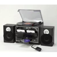 ダブルカセット搭載でレコード、ラジオ、CD も聴けるマルチプレーヤーです  レコードはLP盤、EP盤...