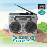 ●迫力サウンドのダブルスピーカー搭載 その場での会話や音声の録音はもちろんのこと、ラジオをダイレクト...