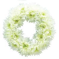 スパイダーガーベラリース WHITE 造花 花材 アートフラワー