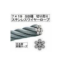 ロープ構成 7×7 SB種 ロープ径 5.0mm 破断荷重 16.7kN (参考)単位重量 105 ...