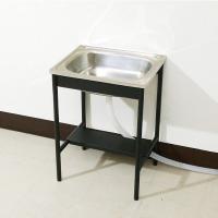 流し台 屋外 流し台 ステンレス 流し台 屋外用 排水ホース付 50cm幅 (SALE セール) YOG