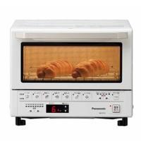 「遠近赤外線ダブル加熱」で トーストからあたため、簡単料理まで、これ1台でたのしめる。  ●外をこん...