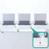 SL-31またはSLE-6Sシリーズに通して、複数の機器をロックできます(No.1)  ■セット内容...