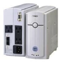 出力容量500VA/300W常時商用給電方式UPS 縦置き型