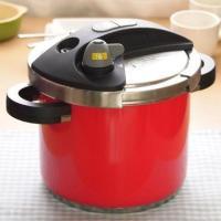 限定カラーの圧力鍋「オースキュート」です。こんなにキュートなカラーの圧力鍋ですが、見た目によらず日本...