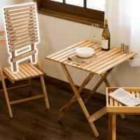 ■商品番号 aaz1005067  オイルフィニッシュ ナチュラルテーブル/折り畳みテーブル ダイニ...