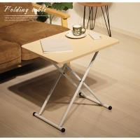 ソファではテーブル、ベッドではサイドテーブル、といった使い方が出来る おしゃれなテーブルです。 簡単...