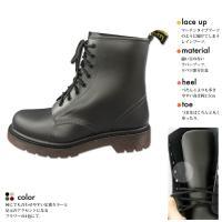 オシャレな足元に マーチンタイプ レインブーツ レディース PL-6301 レインシューズ 防水 晴雨兼用 ロングブーツ  コンフォート カジュアル 婦人靴