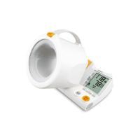 血圧計 上腕式血圧計 デジタル自動血圧計 オムロン HEM-1000 正しい測定姿勢をつくる可動式腕帯 (1)