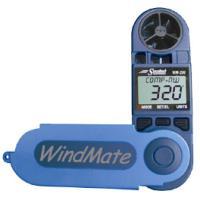 風向表示機能の付いたハンディー風速計。使う時は大きく、収納時はコンパクトにまとまるフォールディングタ...