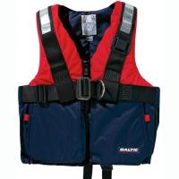 セーフティハーネス付ライフジャケットです。CE規格、救命胴衣基準EN1095に適合商品。非磁製Dリン...
