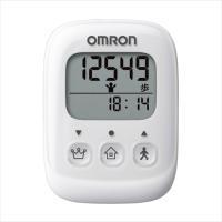 オムロン omron 歩数計 軽量 コンパクト 健康維持 ウォーキング 通勤 通学 ホワイト オムロン HJ-325-W