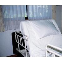 介護ベッド用枕カバー 2枚アジャスター3本セット 楽ちんカバー3色 オフ白 ライトブルー