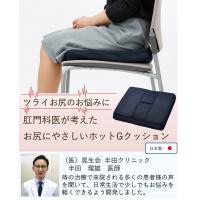 痔 お尻 低反発 クッション 40×40cm カバー付き 日本製