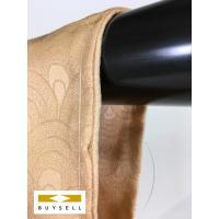 小紋 着物 女性用 薄オレンジ 青海波 ぼかし 正絹 シルク 164cm Lサイズ Cランク 良品  中古