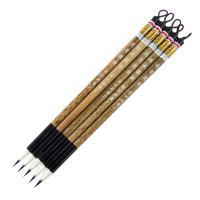 穂の長さ:24mm  穂の内径:5.8mm 軸の長さ:195mm  腰が強く、筆のまとまりもよく、実...