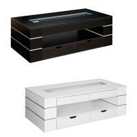高級感ある雰囲気漂うリビングテーブル。直線を多用したシンプルなキューブ型はモダンな印象。大小合計6つ...