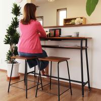 「お家の中でもカフェやバーのようなおしゃれな家具と共に暮らしたい!」という思いを叶えてくれるカウンタ...