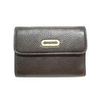 【新品 本物】DG レディース三つ折り財布カーフブラウン ・アウトレット商品 ・DOLCE&...