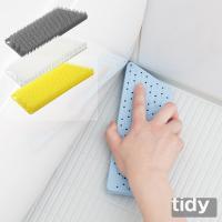 tidy プラタワ・フォーバス 全4色リニューアル バス床洗いブラシ ティディ 風呂床 浴室用ブラシ 風呂洗いブラシ タイル洗い 風呂掃除